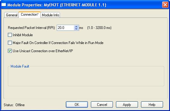 Using Allen-Bradley Controllers via EtherNet/IP I/O