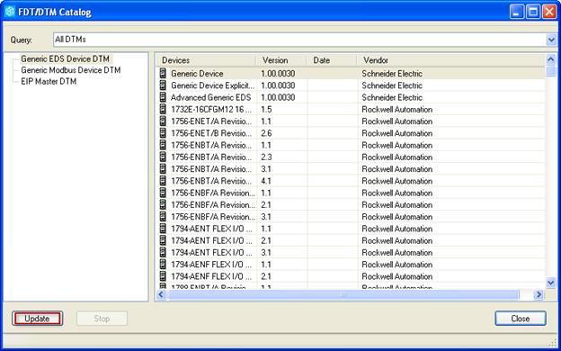 Using Schneider Electric PLCs via EtherNet/IP I/O