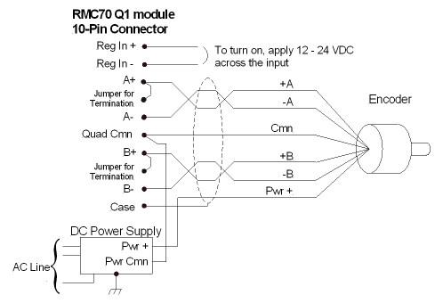 4 wire fan diagram q1 wiring 4 wire encoder diagram